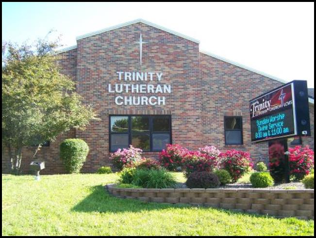 Photo of Trinity Lutheran Church in Troy, MO